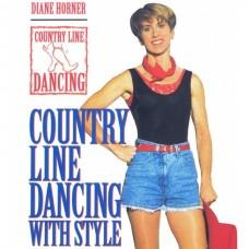 DVD สอนเต้นคันทรี่ไลน์แดนซ์ โดย ไดแอน ฮอร์เนอร์