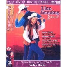 DVD สอนเต้นคันทรี่ไลน์แดนซ์ และ CD เพลงคันทรี่ไลน์แดนซ์